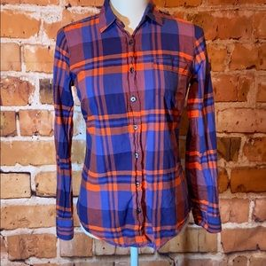 🎉J.Crew Plaid LongSleeve Button Down Shirt🎉